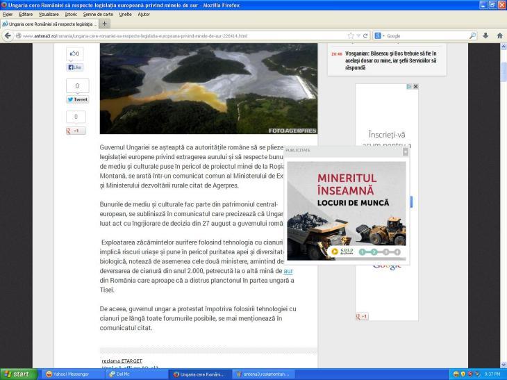 Siteul MASONIC ANTENA 3 e PRO MACELARIT MUNTII!!